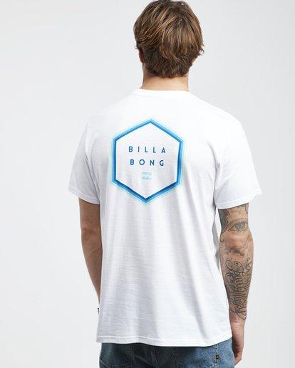 3 Access Back - T-Shirt für Männer Weiss Q1SS39BIF9 Billabong