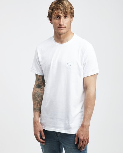 2 Access Back - T-Shirt für Männer Weiss Q1SS39BIF9 Billabong