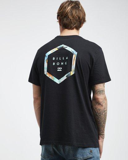 3 Access Back - T-Shirt für Männer Schwarz Q1SS39BIF9 Billabong
