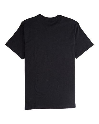 5 Tucked - Camiseta de Manga Corta para Hombre Negro Q1SS40BIF9 Billabong