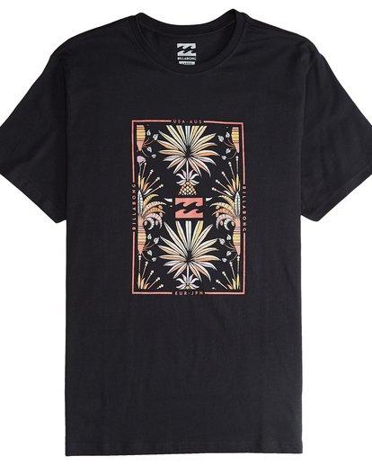4 Tucked - Camiseta de Manga Corta para Hombre Negro Q1SS40BIF9 Billabong