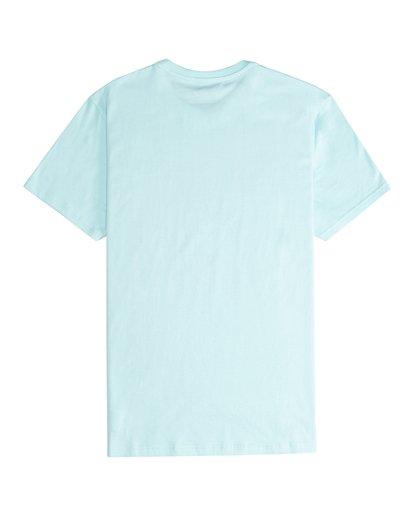 5 Tucked - Camiseta de Manga Corta para Hombre Verde Q1SS40BIF9 Billabong