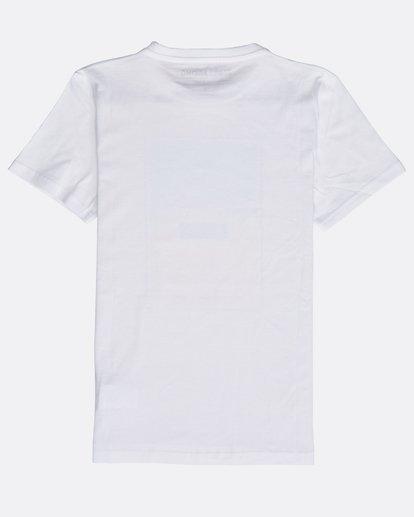 1 Tucked - Camiseta de Manga Corta para Hombre Blanco Q1SS40BIF9 Billabong