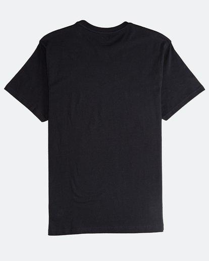 1 Tucked - Camiseta de Manga Corta para Hombre Negro Q1SS40BIF9 Billabong