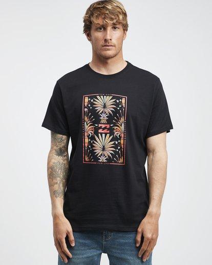 6 Tucked - Camiseta de Manga Corta para Hombre Negro Q1SS40BIF9 Billabong