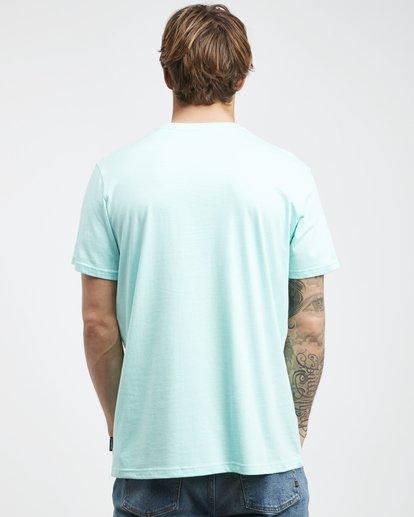 7 Tucked - Camiseta de Manga Corta para Hombre Verde Q1SS40BIF9 Billabong