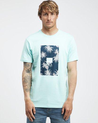 6 Tucked - Camiseta de Manga Corta para Hombre Verde Q1SS40BIF9 Billabong