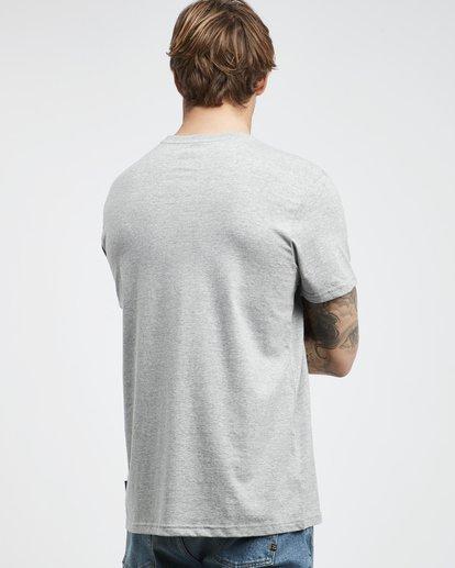 3 Tucked - T-Shirt für Männer Grau Q1SS40BIF9 Billabong