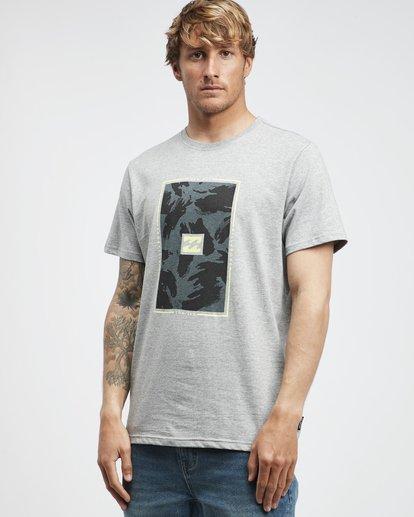 2 Tucked - T-Shirt für Männer Grau Q1SS40BIF9 Billabong