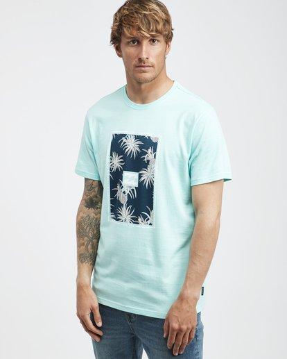 2 Tucked - Camiseta de Manga Corta para Hombre Verde Q1SS40BIF9 Billabong