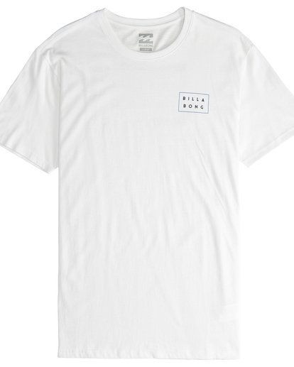 4 Die Cut Theme - Camiseta de Manga Corta para Hombre Beige Q1SS41BIF9 Billabong