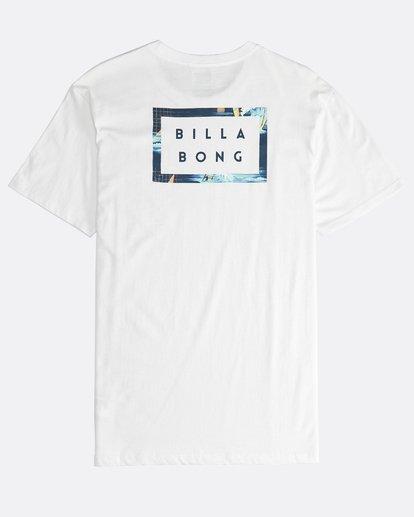 1 Die Cut Theme - Camiseta de Manga Corta para Hombre Beige Q1SS41BIF9 Billabong