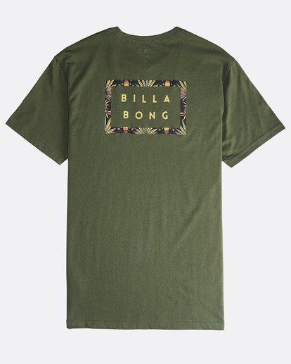1 Die Cut Theme - T-Shirt für Männer Gemustert Q1SS41BIF9 Billabong