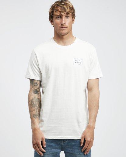 6 Die Cut Theme - Camiseta de Manga Corta para Hombre Beige Q1SS41BIF9 Billabong