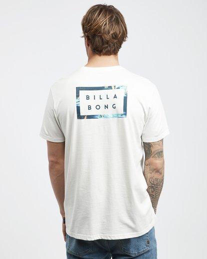 3 Die Cut Theme - T-Shirt für Männer Beige Q1SS41BIF9 Billabong