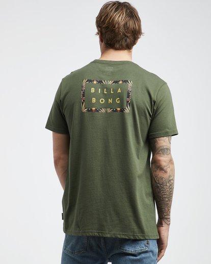 3 Die Cut Theme - T-Shirt für Männer Gemustert Q1SS41BIF9 Billabong