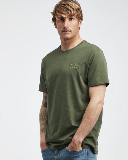 2 Die Cut Theme - T-Shirt für Männer Gemustert Q1SS41BIF9 Billabong
