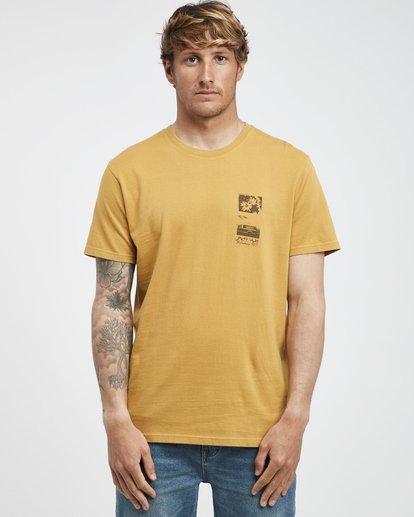 7 Exposure - Camiseta de Manga Corta para Hombre Plateado Q1SS42BIF9 Billabong