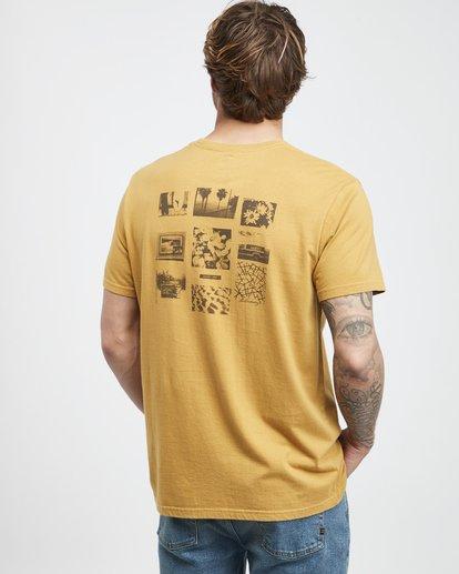 3 Exposure - Camiseta de Manga Corta para Hombre Plateado Q1SS42BIF9 Billabong