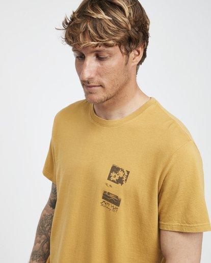4 Exposure - Camiseta de Manga Corta para Hombre Plateado Q1SS42BIF9 Billabong