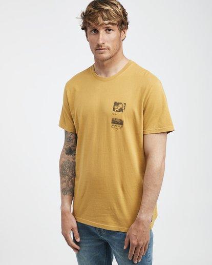2 Exposure - Camiseta de Manga Corta para Hombre Plateado Q1SS42BIF9 Billabong