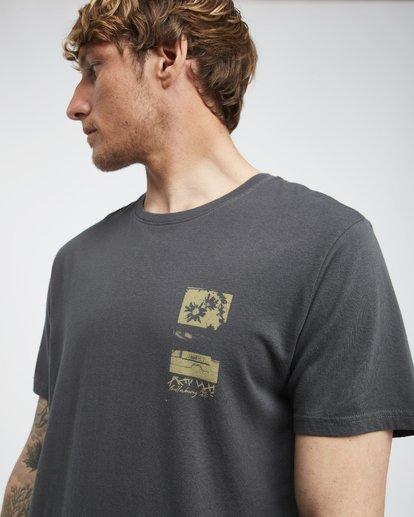 4 Exposure - T-Shirt für Männer Schwarz Q1SS42BIF9 Billabong