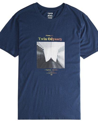 2 Poster - T-Shirt für Männer Blau Q1SS43BIF9 Billabong