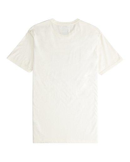 5 Poster - Camiseta de Manga Corta para Hombre Blanco Q1SS43BIF9 Billabong