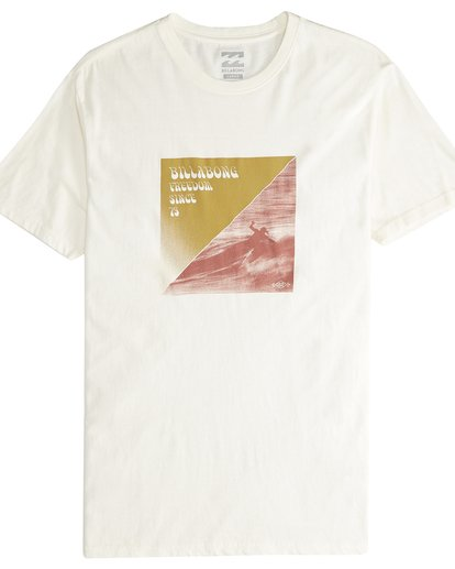 4 Poster - Camiseta de Manga Corta para Hombre Blanco Q1SS43BIF9 Billabong
