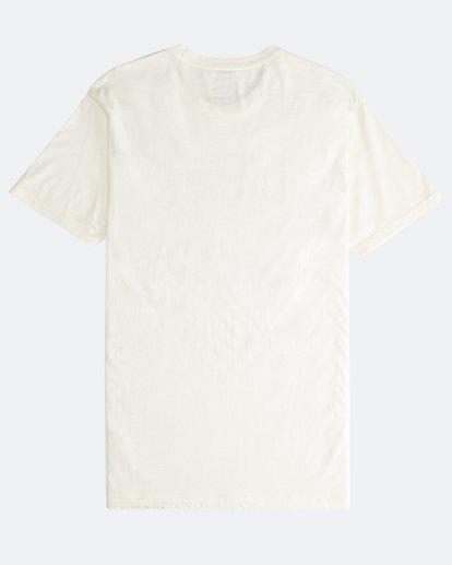 1 Poster - Camiseta de Manga Corta para Hombre Blanco Q1SS43BIF9 Billabong