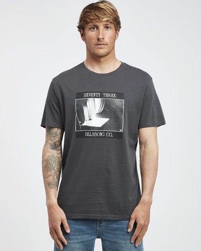 6 Poster - Camiseta de Manga Corta para Hombre Negro Q1SS43BIF9 Billabong
