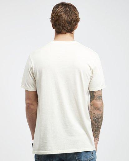 7 Poster - Camiseta de Manga Corta para Hombre Blanco Q1SS43BIF9 Billabong