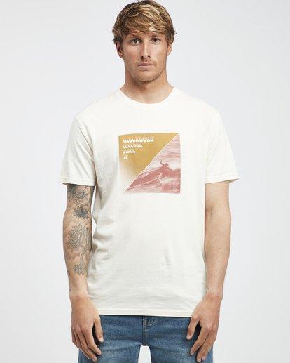 6 Poster - Camiseta de Manga Corta para Hombre Blanco Q1SS43BIF9 Billabong