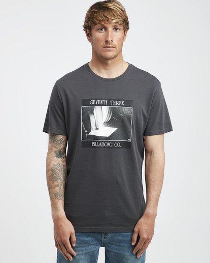 2 Poster - Camiseta de Manga Corta para Hombre Negro Q1SS43BIF9 Billabong
