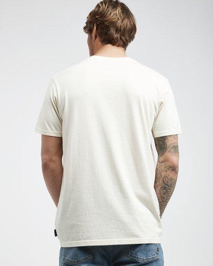 3 Poster - Camiseta de Manga Corta para Hombre Blanco Q1SS43BIF9 Billabong