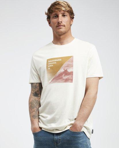2 Poster - Camiseta de Manga Corta para Hombre Blanco Q1SS43BIF9 Billabong