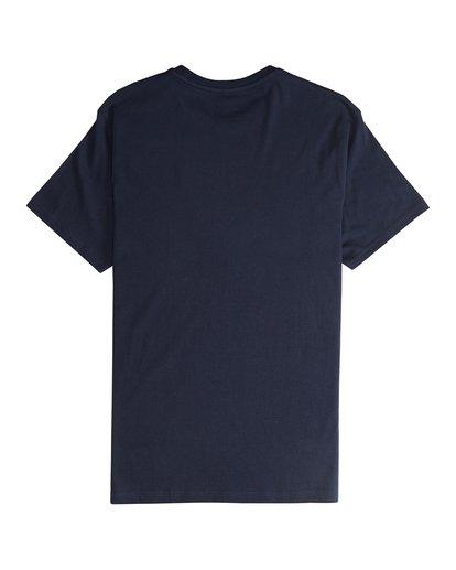 5 Tropix - Camiseta de Manga Corta para Hombre Azul Q1SS45BIF9 Billabong