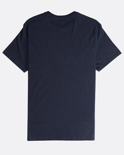 1 Tropix - Camiseta de Manga Corta para Hombre Azul Q1SS45BIF9 Billabong
