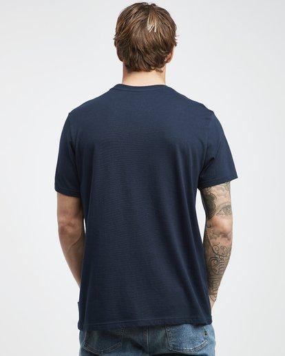 7 Tropix - Camiseta de Manga Corta para Hombre Azul Q1SS45BIF9 Billabong