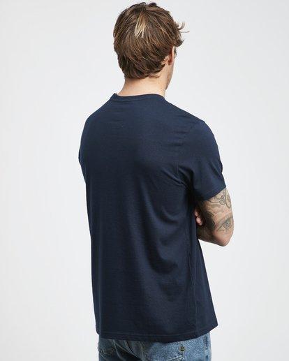 3 Tropix - Camiseta de Manga Corta para Hombre Azul Q1SS45BIF9 Billabong
