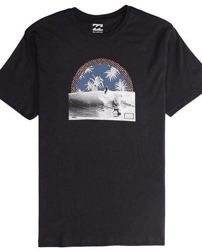 4 High Line - T-Shirt für Männer Schwarz Q1SS48BIF9 Billabong