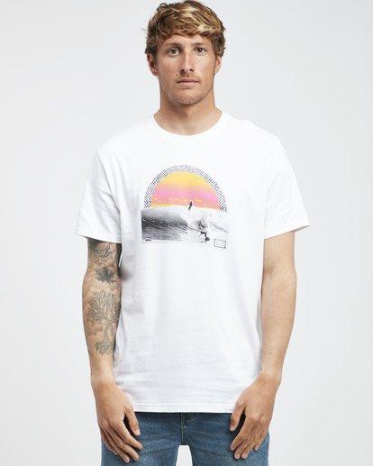 6 High Line - T-Shirt für Männer Weiss Q1SS48BIF9 Billabong