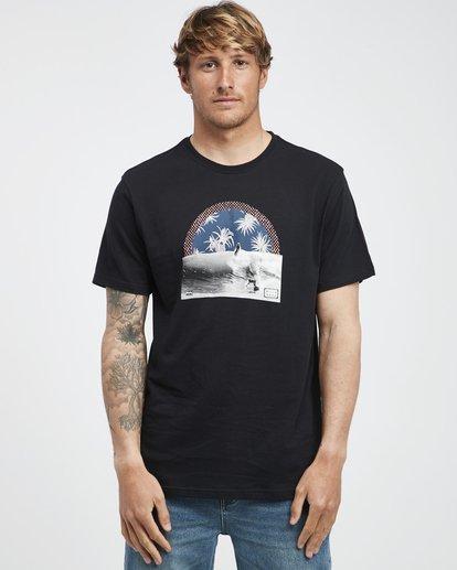 6 High Line - T-Shirt für Männer Schwarz Q1SS48BIF9 Billabong