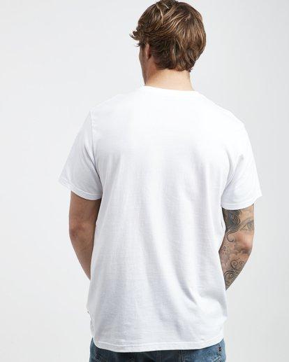 3 High Line - T-Shirt für Männer Weiss Q1SS48BIF9 Billabong