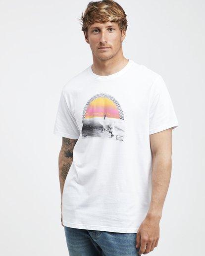 2 High Line - T-Shirt für Männer Weiss Q1SS48BIF9 Billabong