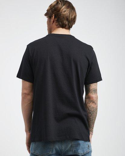 3 High Line - T-Shirt für Männer Schwarz Q1SS48BIF9 Billabong