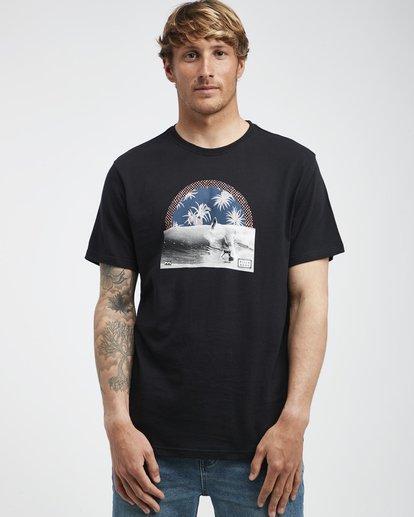 2 High Line - T-Shirt für Männer Schwarz Q1SS48BIF9 Billabong