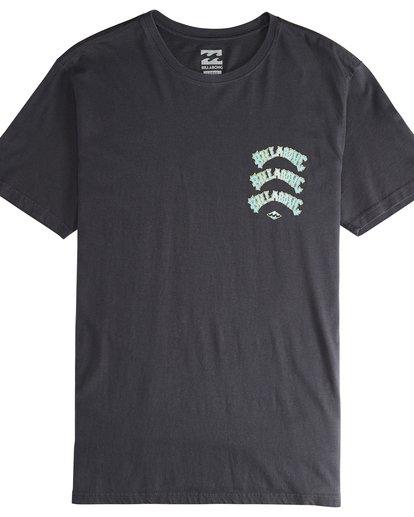5 Warp - T-Shirt für Männer Schwarz Q1SS49BIF9 Billabong