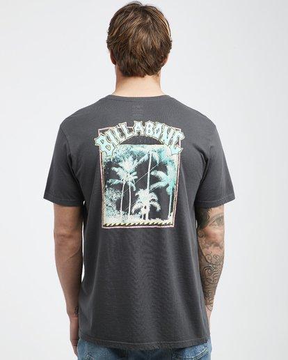 3 Warp - T-Shirt für Männer Schwarz Q1SS49BIF9 Billabong