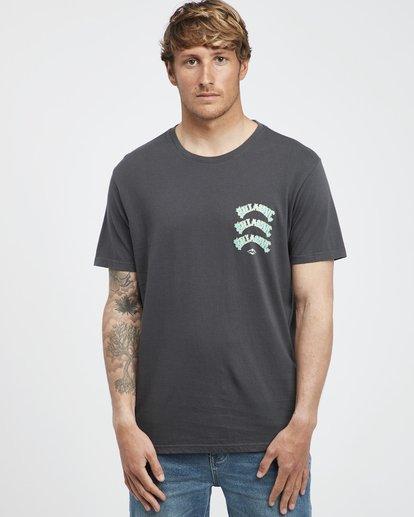 2 Warp - T-Shirt für Männer Schwarz Q1SS49BIF9 Billabong